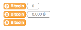 Bitcoin Wordpress buttons example